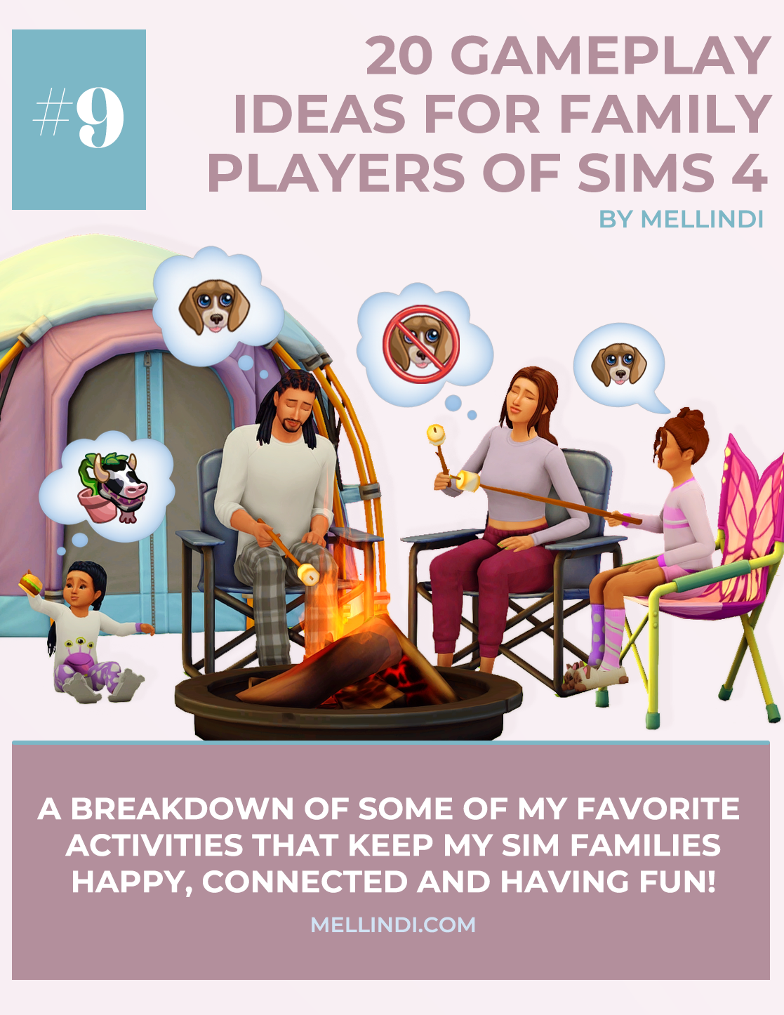 20 Gameplay Ideas for Family Players of Sims 20 – Mellindi   Sims 20 ...
